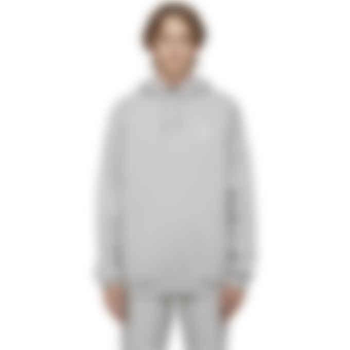 adidas Originals - Adicolor Essentials Trefoil Hoodie - Medium Grey Heather