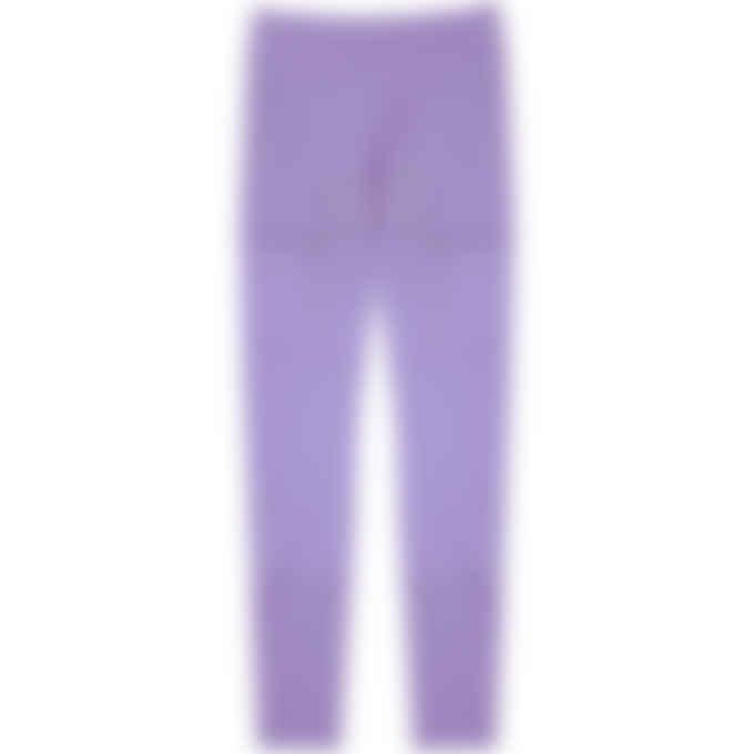 Reebok - Reebok x Cardi B Mesh High Rise Leggings - Hyper Purple