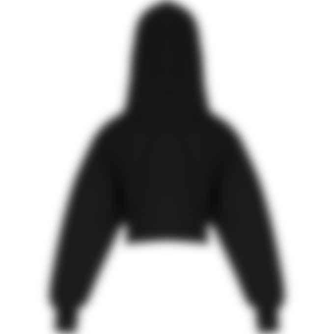 Reebok - Cardi B Crop Hoodie - Black