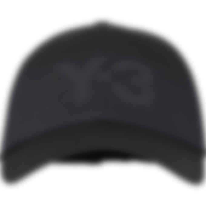 Y-3 - Logo Cap - Black