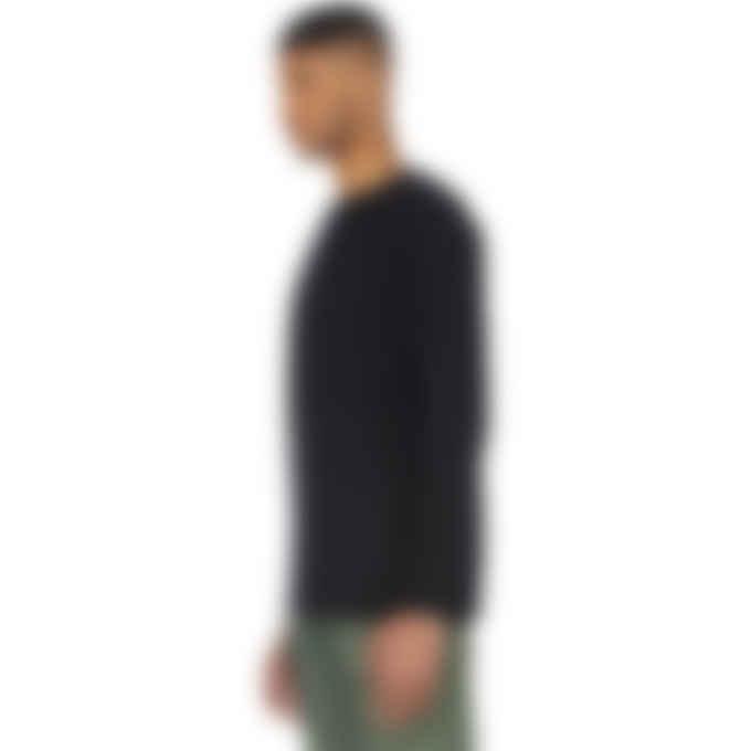 Y-3 - Classic Merino Blend Knit Crew Pullover Sweater - Black