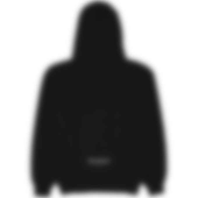 influenceu - Heavy Fleece Logo Sweatshirt - Black