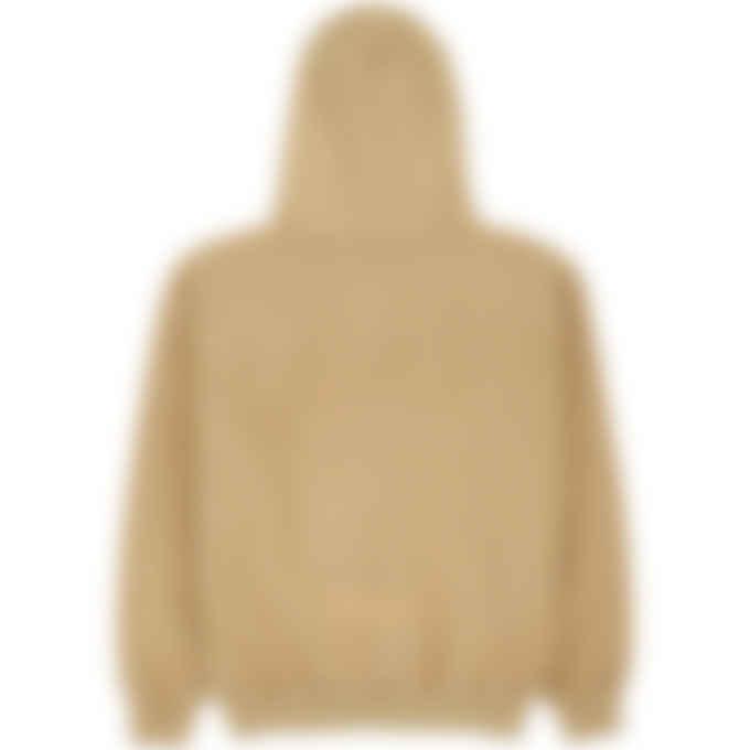 influenceu - Heavy Fleece Logo Sweatshirt - Mushroom
