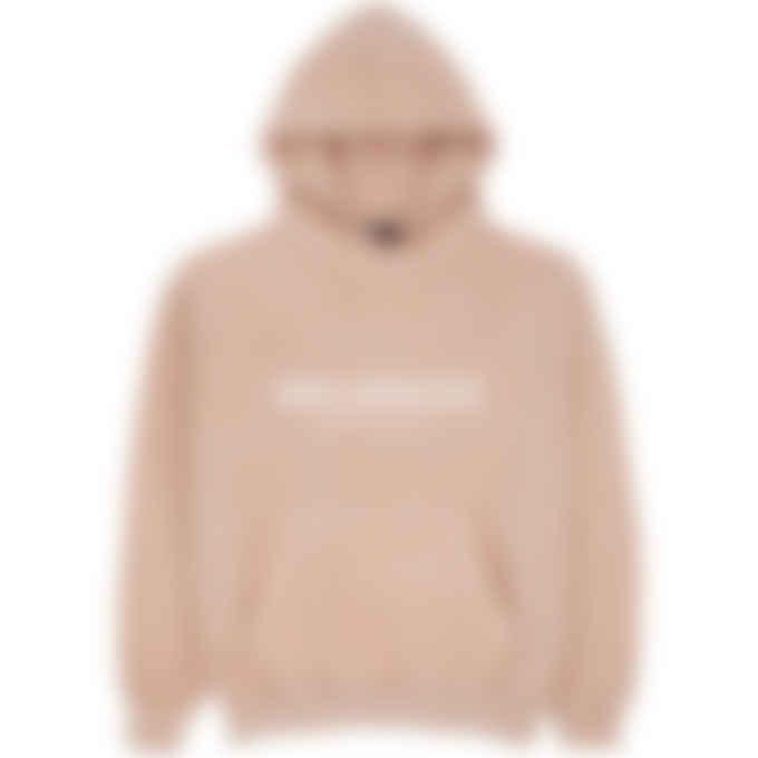 influenceu - Heavy Fleece Logo Sweatshirt - Rose Pink