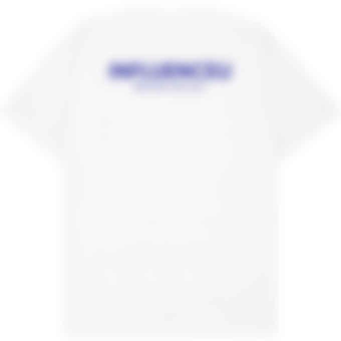 influenceu - Heavy Jersey Logo T-Shirt - White