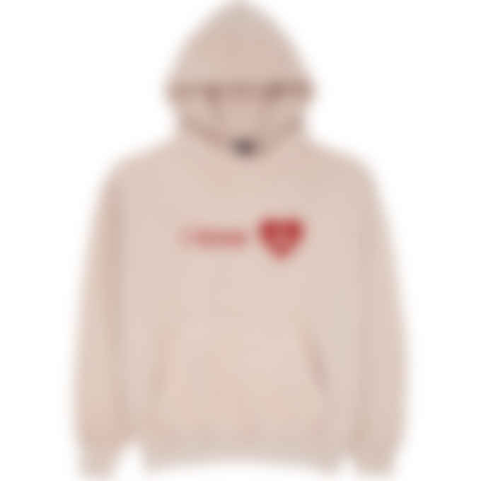 influenceu - 'I Love U' Valentine's Day Custom Unisex Hoodie - Rose Quartz