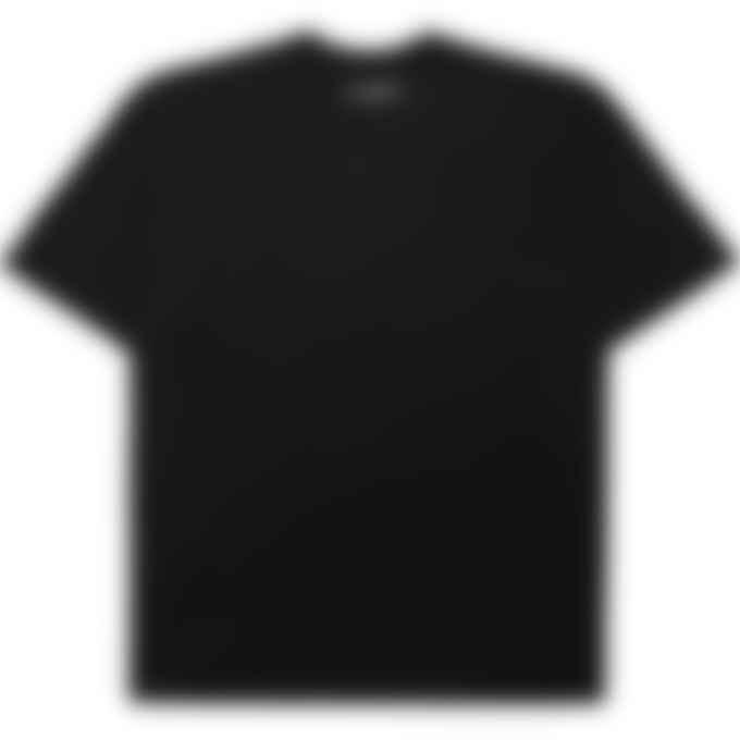 influenceu - '1992 été' Print T-Shirt - Black