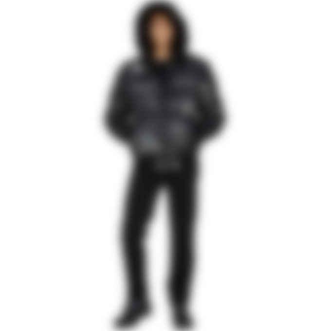 Moose Knuckles - Pengarth Bomber - Carbon/Black