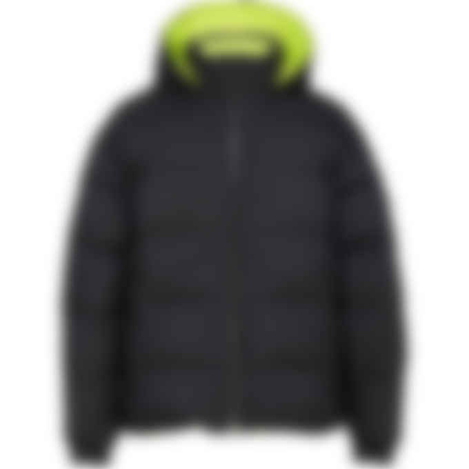 Moose Knuckles - Syndicate Reversible Jacket - Black/Lime