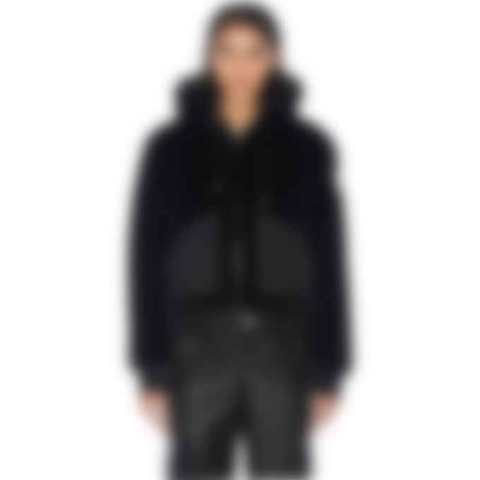 Moose Knuckles - Cadotte Bunny Sweater Jacket - Black