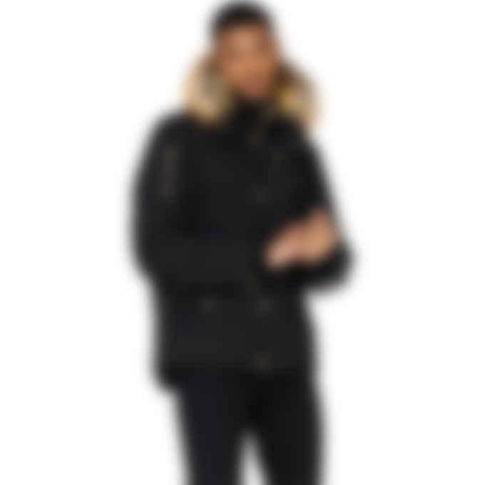 Moose Knuckles - Minnetonka 3Q Jacket - Black/Gold