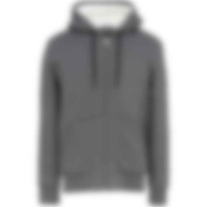 Moose Knuckles - His-Fashion Bunny Hoodie - Charcoal/White