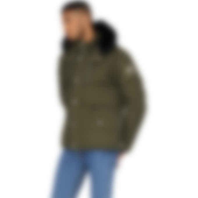 Moose Knuckles - 3Q Jacket - Army/Black