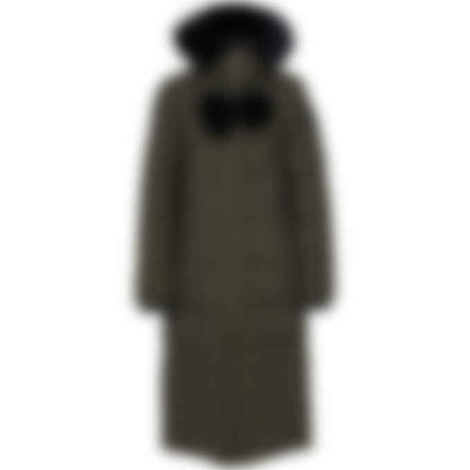 Moose Knuckles - Saskatchewan Parka - Army/Black