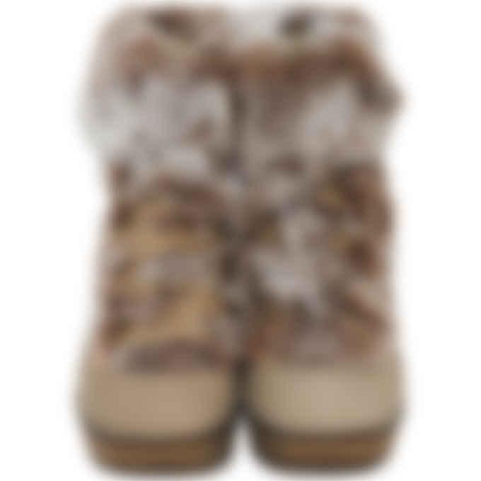 Cougar - Penelope Suede Wedge Boots - Mushroom