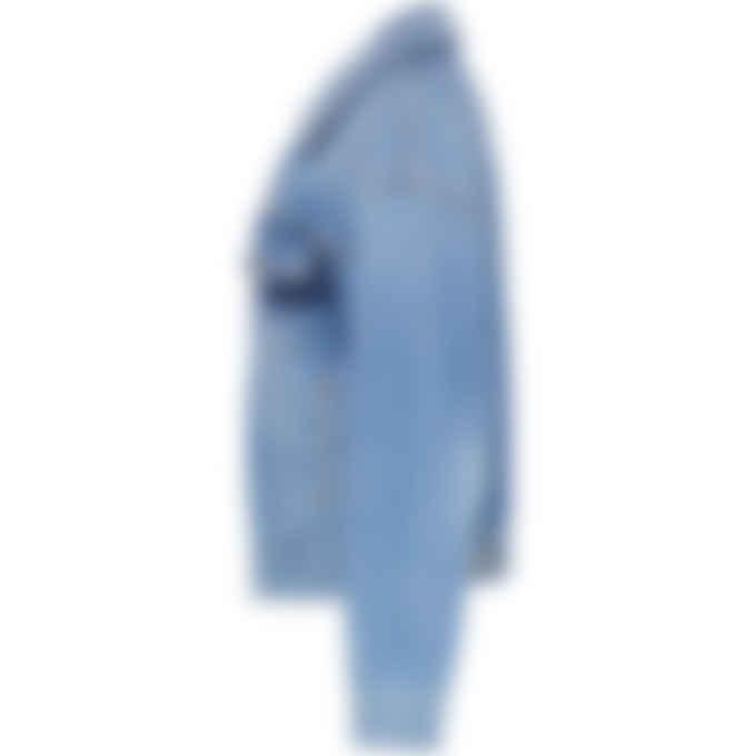 MM6 Maison Margiela - Shadow Denim Jacket - Blue
