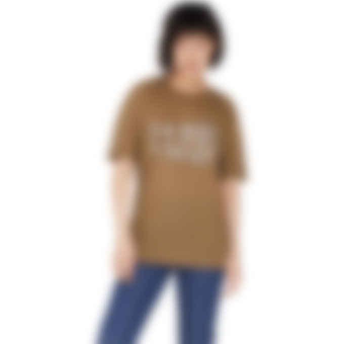 MM6 Maison Margiela - Glow In The Dark Logo Lightweight T-Shirt - Brown