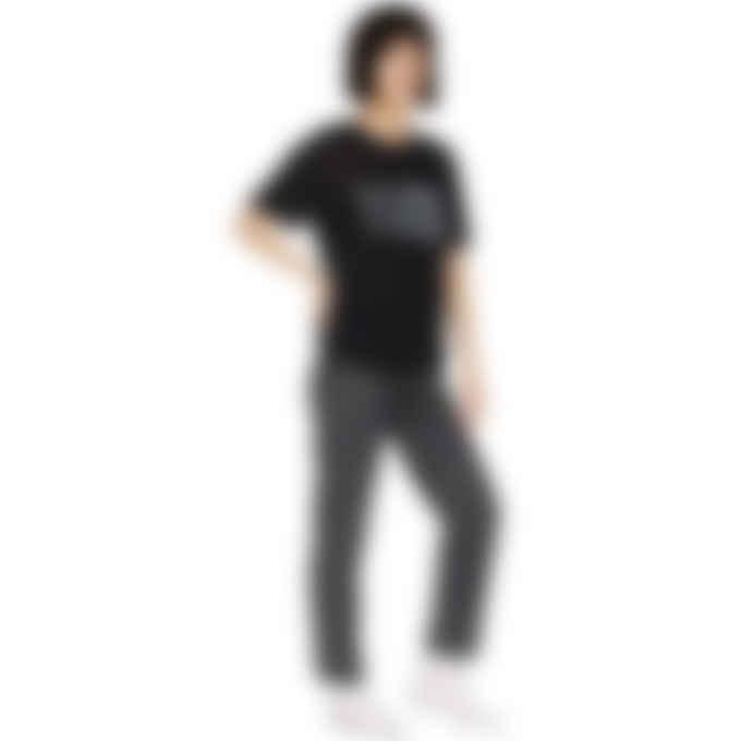 MM6 Maison Margiela - Glow In The Dark Logo Lightweight T-Shirt - Black