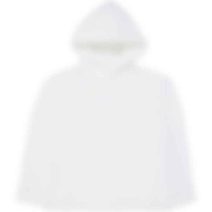 MM6 Maison Margiela - Logo Hoodie - White
