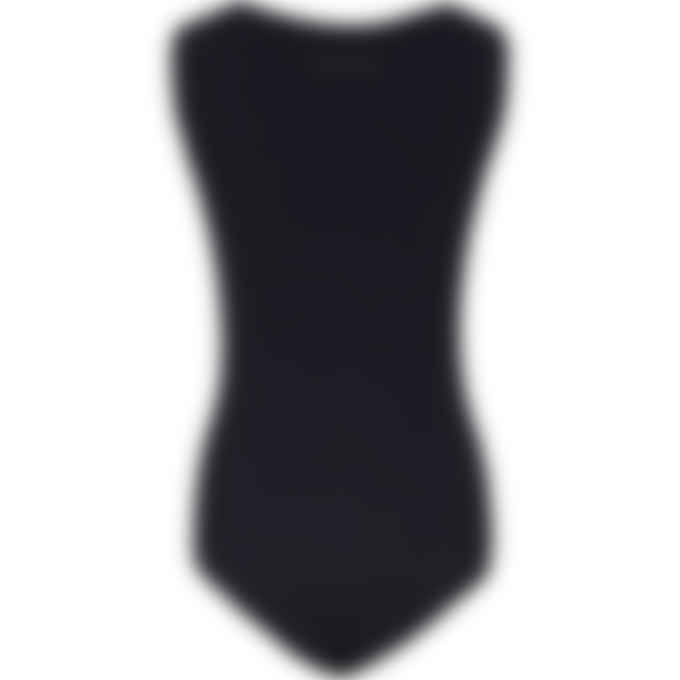 MM6 Maison Margiela - Logo Body Tank Top - Black