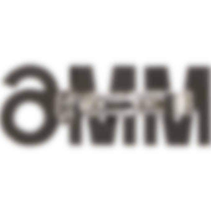 MM6 Maison Margiela - Crystal Logo Barrette - Silver