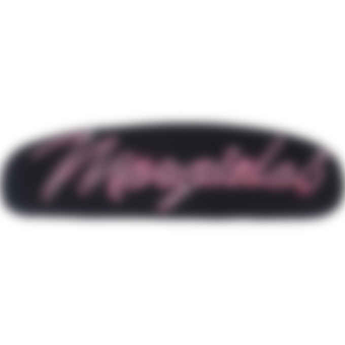 MM6 Maison Margiela - Neon Logo Headband - Black