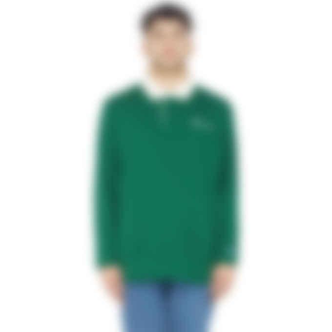 Champion - Kanga Pocket Rugby Shirt - Pine Green