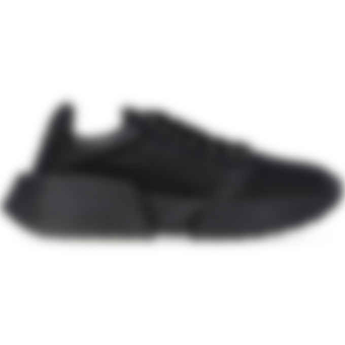 MM6 Maison Margiela - Glitter Flare Sneakers - Black
