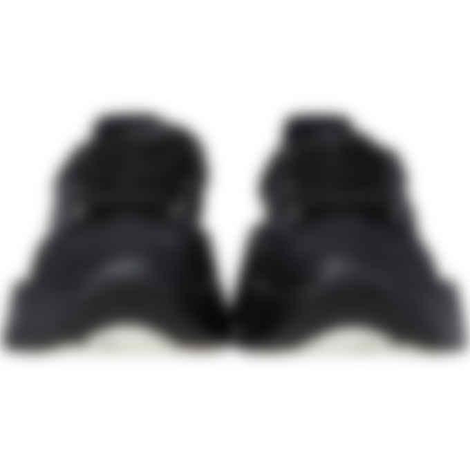MM6 Maison Margiela - Glitter Flare Sneakers - Black