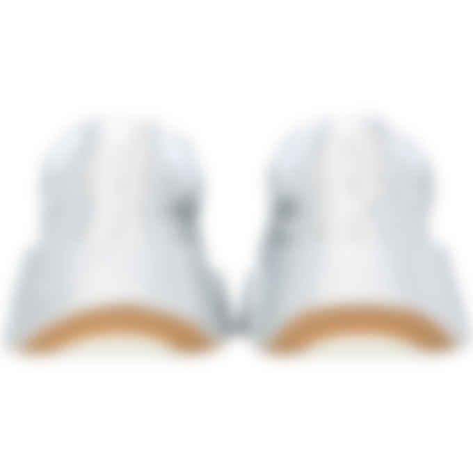 MM6 Maison Margiela - Glitter Flare Sneakers - Silver