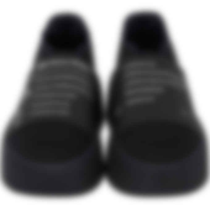 MM6 Maison Margiela - Explanation Print Sneakers - Black