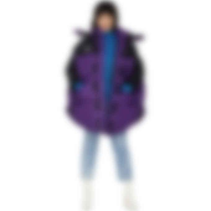 MM6 Maison Margiela - MM6 X TNF Circle Himalayan Parka - Peak Purple