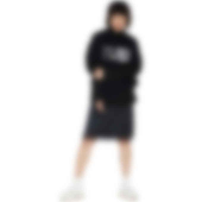 MM6 Maison Margiela - Oversized Logo Circle T-Shirt - Black