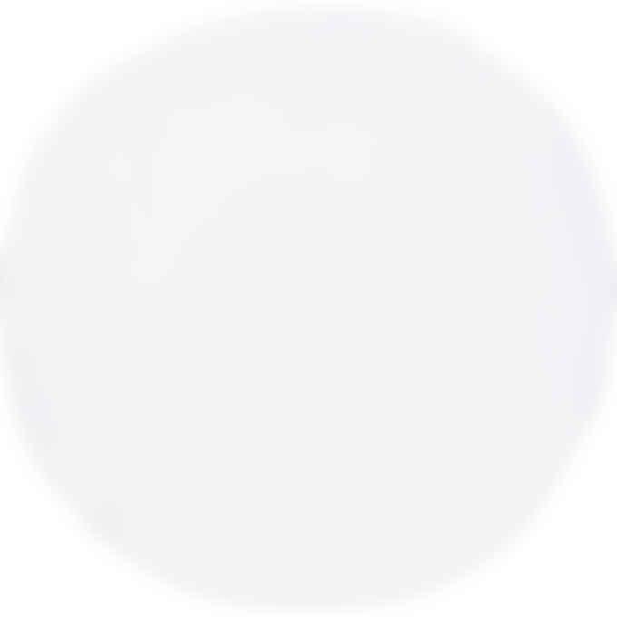 MM6 Maison Margiela - Oversized Draped Logo Circle T-Shirt - White