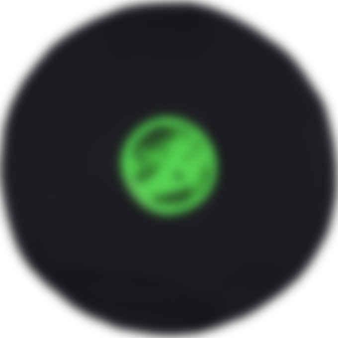 MM6 Maison Margiela - Oversized Neon Logo Circle Top - Black
