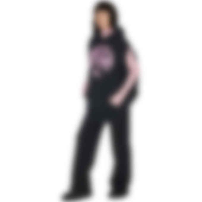 MM6 Maison Margiela - Wide Leg Sweatpants - Black