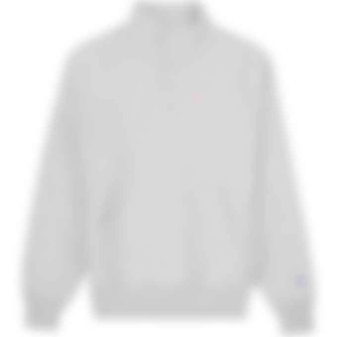 Champion - Reverse Weave 1/4 Snap Pullover Sweater - Oxford Grey