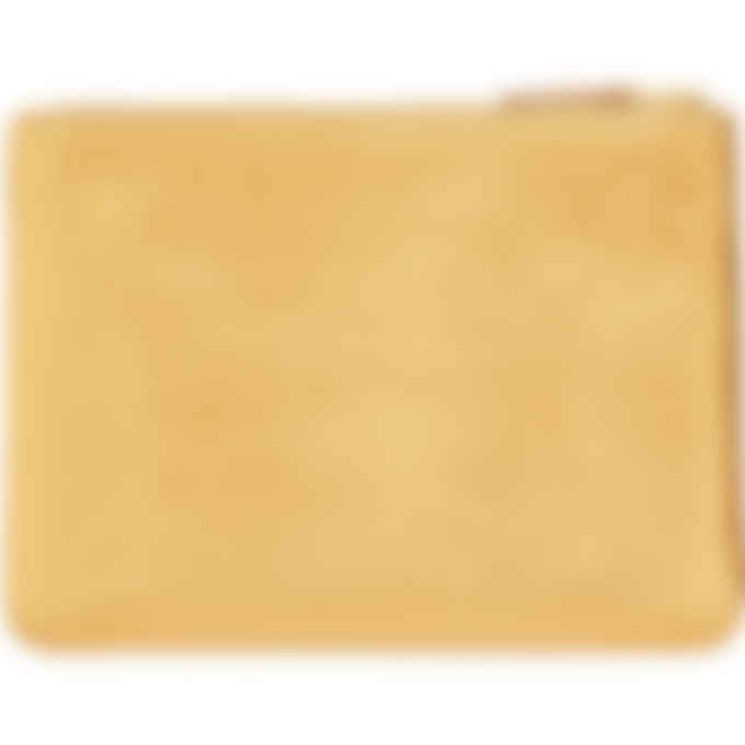 Comme des Garçons Play - Gold Leather Wallet - Gold