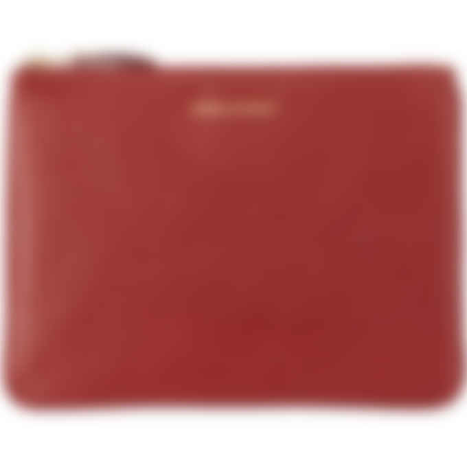 Comme des Garçons Play - Classic Leather Wallet - Red