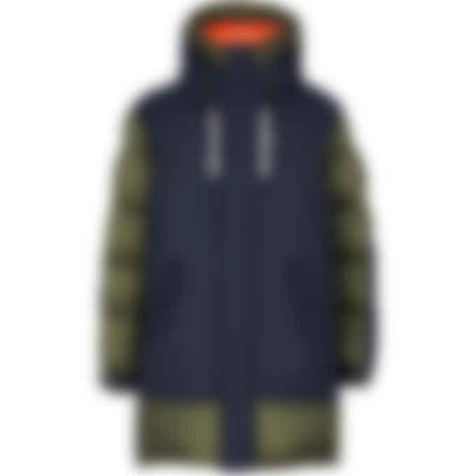 Mackage - Simon Mixed Puffer Jacket - Army