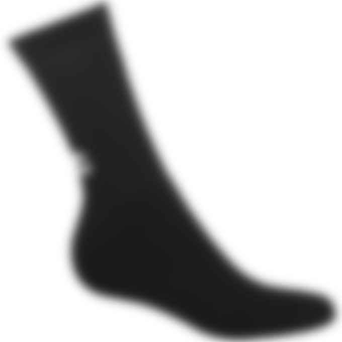032c - 'System' Socks - Black