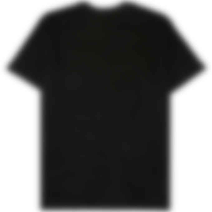 032c - 'Topos' Shaved Terry T-Shirt - Black