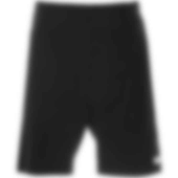 032c - 'Topos' Shaved Terry Shorts - Black
