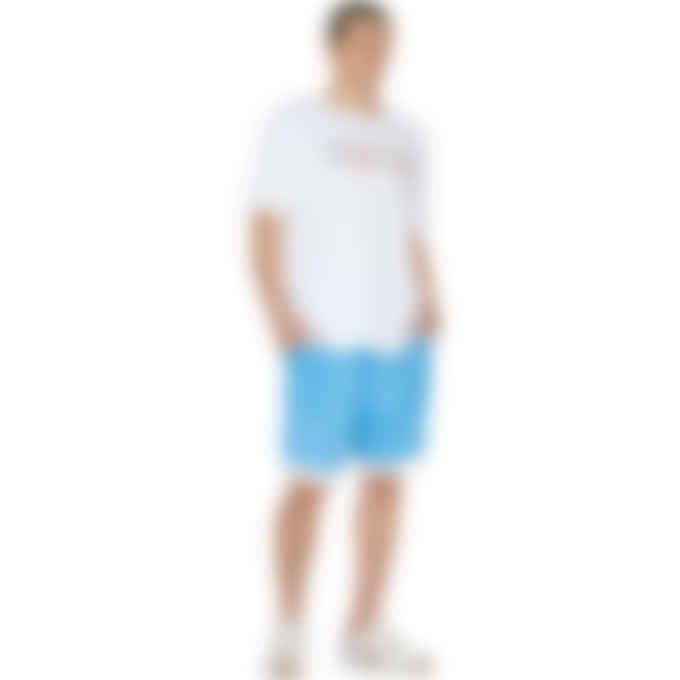 Champion - Overlap Block Heritage Logo T-Shirt - White