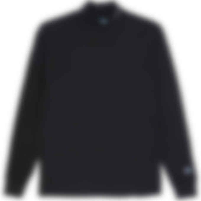 Champion - Reverse Weave Mock Neck T-Shirt - Black
