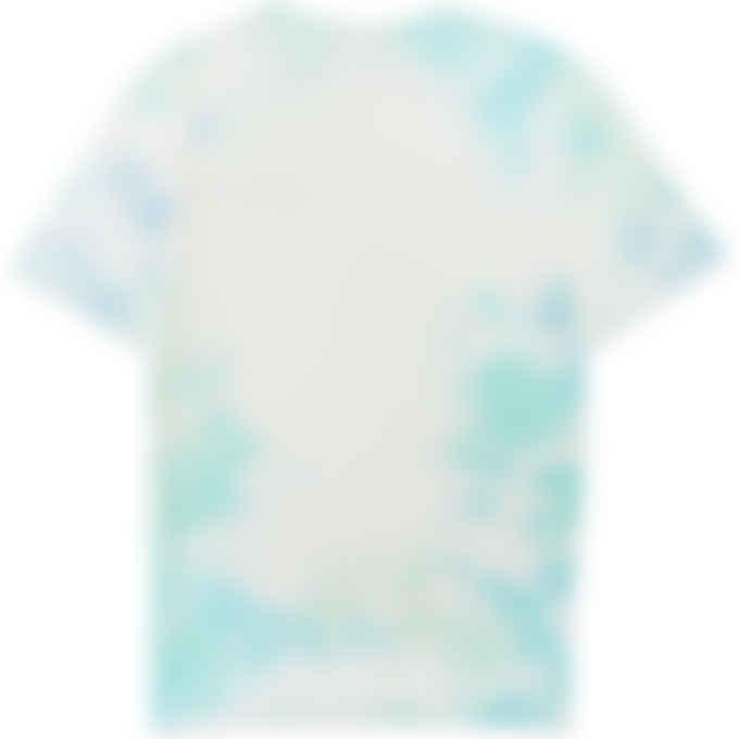 Champion - Cloud Dye Heritage T-Shirt - Forest Blue/Iced Green Tea/Light Sea Green