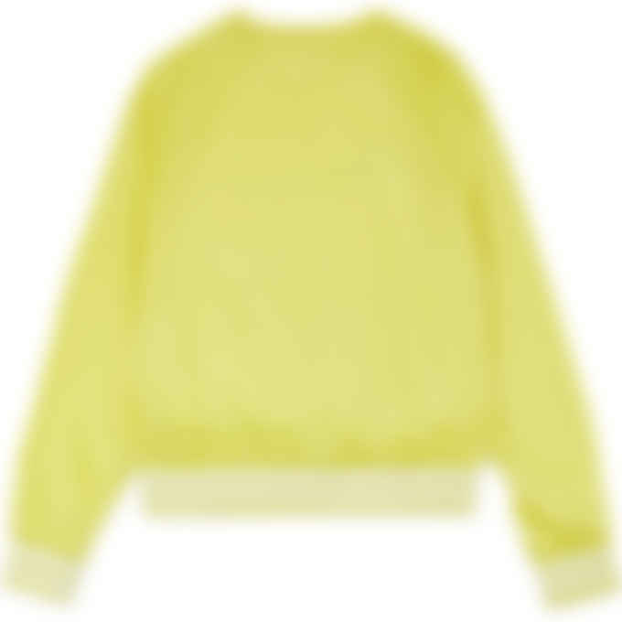 Champion - Ripstop Script Crew Pullover - Journey Yellow