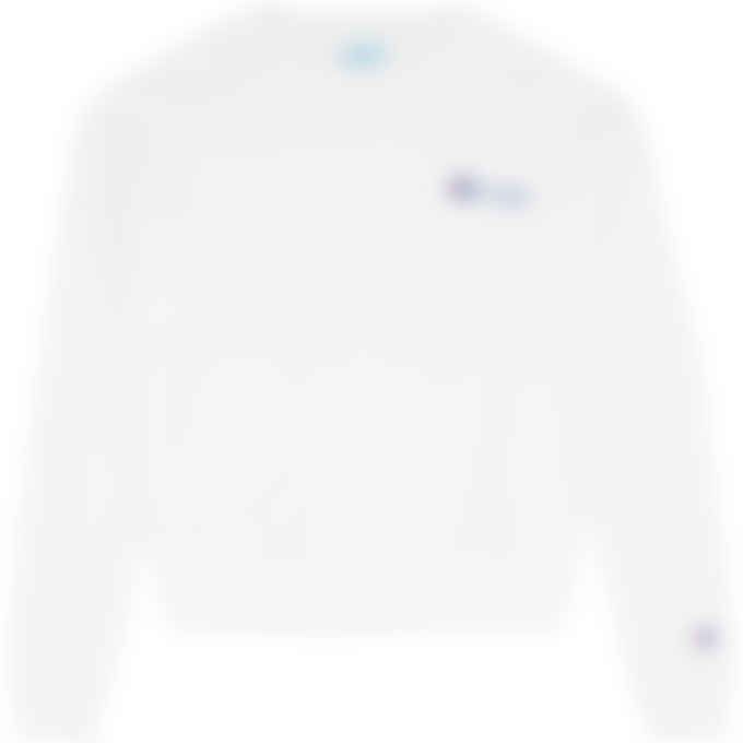 Champion - Heritage Jersey Crew Pullover Sweater - White
