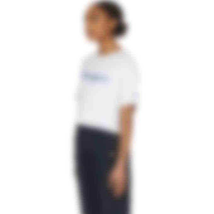 Champion - Script Logo Crop T-Shirt - White