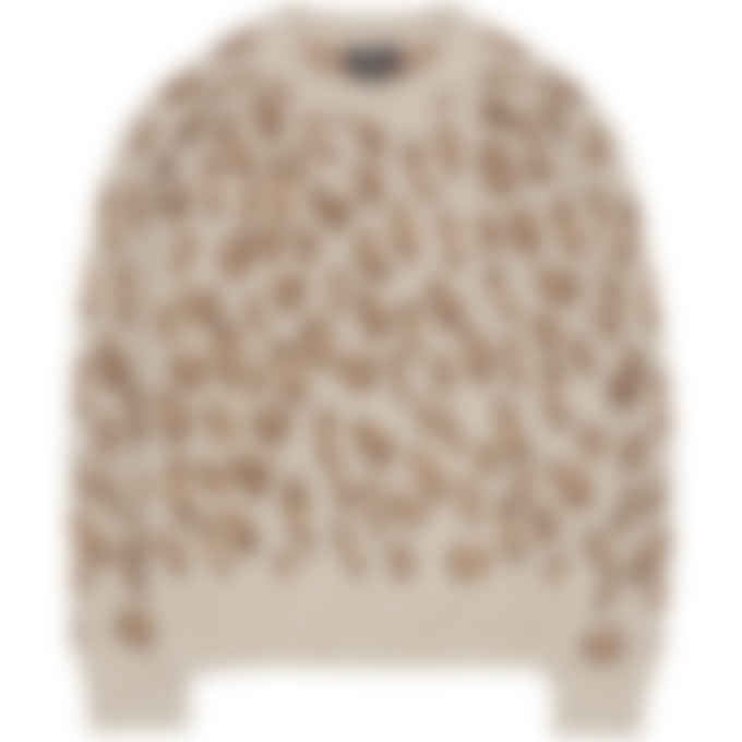 A.P.C. - Esther Knit Pullover Sweater - Frosted Chestnut Brown